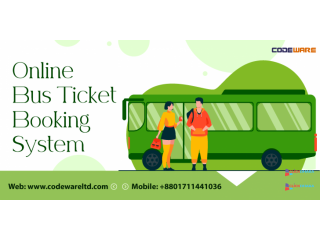 Bus Ticket Booking System | Online Bus Ticketing System